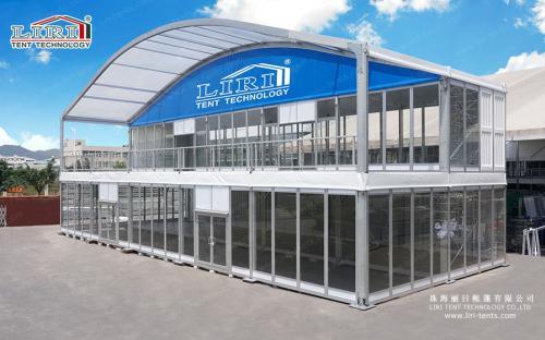 Двухэтажные арочные шатры (серия ADDS)