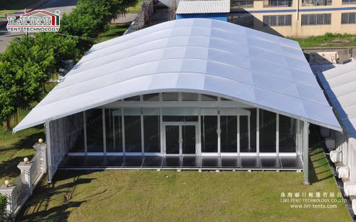 Тент с дуговой крышей (серия ATH)