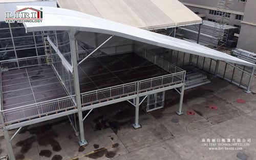 Двухэтажные полуарочные шатры (серия DDTTSST)