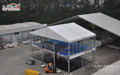 Двухэтажные шатры-склады (серия DDTTSSTX)