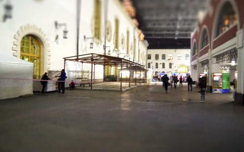 "Летнее кафе. Кафе ""Встреча"". Москва, Казанский вокзал"