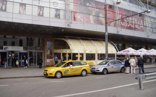 """Летняя веранда. Ресторан """"Termini"""" г.Москва, торговый центр """"Европейский"""""""