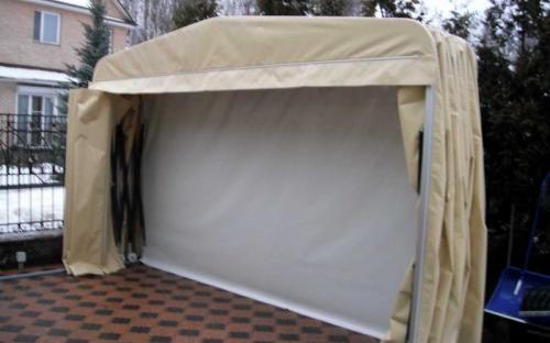 Тентовый гараж. Московская область