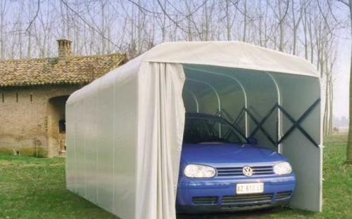 Тентовый гараж для автомобиля