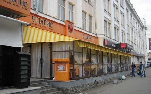 """Пристенное кафе """"Il Патио"""", Беломорская ул. Ткань маркизная"""