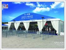 Тенты с арочными крышами