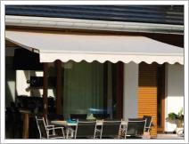 Маркизы для летних кафе и веранд ресторанов